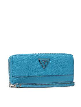 Guess Guess Veľká dámska peňaženka Cordelia (VY) Slg SWVY81 30460 Modrá
