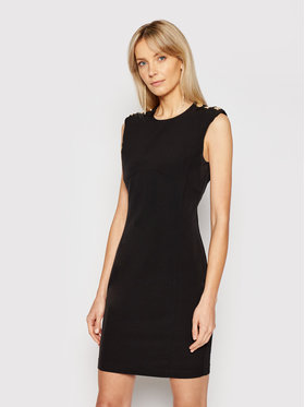Pinko Pinko Ежедневна рокля Insicuro PE21 BLK01 1G1627 Y6ZJ Черен Regular Fit