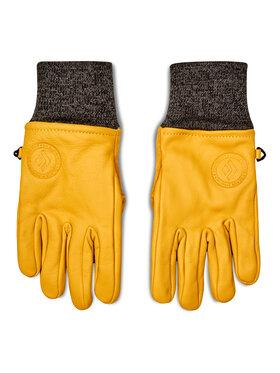 Black Diamond Black Diamond Slidinėjimo pirštinės Dirt Bag Gloves BD801861 NTRL Geltona