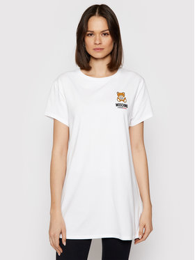 MOSCHINO Underwear & Swim MOSCHINO Underwear & Swim T-shirt 1910 9021 Bianco Regular Fit
