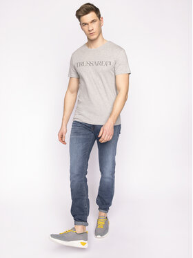 Trussardi Jeans Trussardi Jeans T-Shirt 52T00305 Szary Regular Fit
