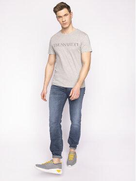 Trussardi Jeans Trussardi Jeans Tricou 52T00305 Gri Regular Fit
