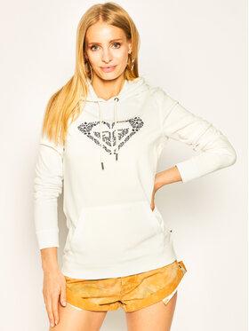 Roxy Roxy Sweatshirt Shine Your Light ERJFT04155 Blanc Regular Fit