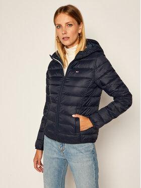Tommy Jeans Tommy Jeans Μπουφάν πουπουλένιο Hooded Quilted Zip DW0DW08672 Σκούρο μπλε Slim Fit