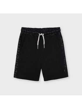 Mayoral Mayoral Sportske kratke hlače 3240 Crna Regular Fit