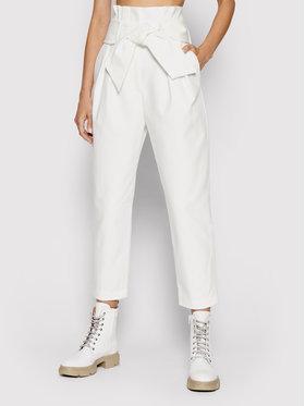 IRO IRO Spodnie materiałowe Ritokie A0035 Biały Regular Fit