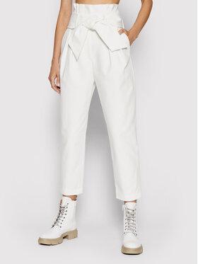 IRO IRO Текстилни панталони Ritokie A0035 Бял Regular Fit