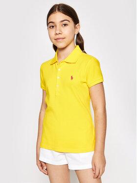 Polo Ralph Lauren Polo Ralph Lauren Polo marškinėliai Ss Polo 313698589087 Geltona Regular Fit