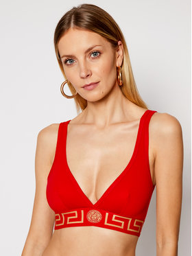 Versace Versace Bralette melltartó Donna AUD01047 Piros