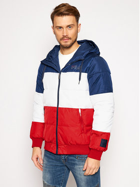 Fila Fila Пухено яке Lassad 683198 Цветен Regular Fit