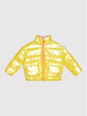 Billieblush Billieblush Vatovaná bunda U16300 Žlutá Regular Fit