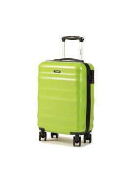 Ochnik Ochnik Kis kemény borítású bőrönd WALPC-0006-20 Zöld