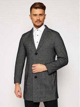 Bugatti Bugatti Gyapjú kabát 625228 64068 Szürke Regular Fit