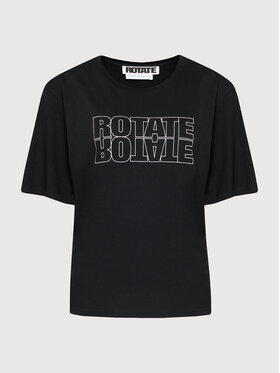 ROTATE ROTATE Póló Aster Tee RT444 Fekete Loose Fit