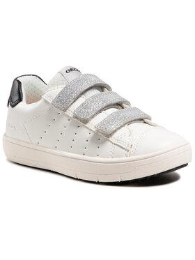 Geox Geox Sneakers J Silenex G. B J15DWB 000BC C1000 M Alb