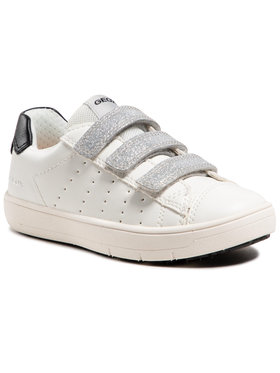 Geox Geox Sneakersy J Silenex G. B J15DWB 000BC C1000 M Biały
