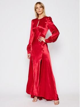TwinSet TwinSet Sukienka wieczorowa 202TP2141 Czerwony Regular Fit