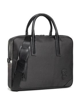KARL LAGERFELD KARL LAGERFELD Чанта за лаптоп 805902 502113 Черен