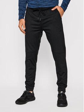 4F 4F Παντελόνι φόρμας D4Z20-SPMTR111 Μαύρο Regular Fit