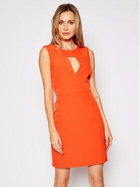 Guess Guess Sukienka koktajlowa W1GK0S WB4H2 Czerwony Slim Fit