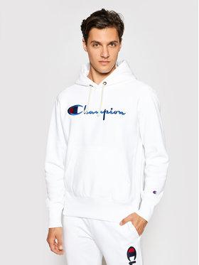 Champion Champion Bluza Script Logo 215159 Biały Custom Fit