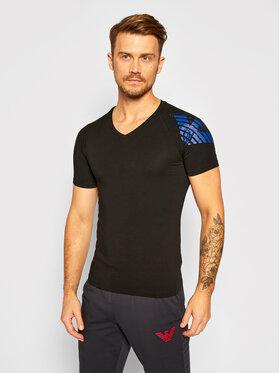 Emporio Armani Underwear Emporio Armani Underwear T-shirt 111760 0A725 00020 Crna Slim Fit