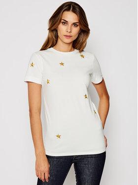Marella Marella T-Shirt Stella 39760409 Biały Regular Fit