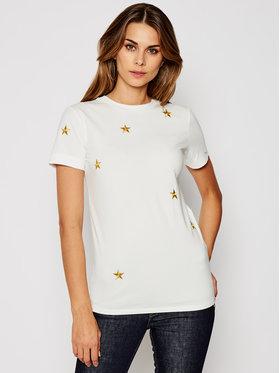 Marella Marella T-shirt Stella 39760409 Blanc Regular Fit