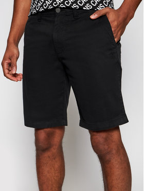 Calvin Klein Jeans Calvin Klein Jeans Szorty materiałowe J30J319061 Czarny Slim Fit