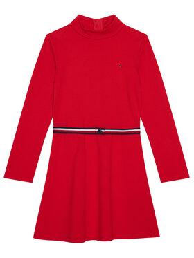 TOMMY HILFIGER TOMMY HILFIGER Robe de jour Essential Skater KG0KG05437 D Rouge Regular Fit