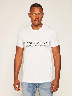 Armani Exchange Armani Exchange T-shirt 8NZT72 Z8H4Z 1100 Blanc Slim Fit