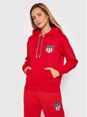 Gant Gant Sweatshirt Retro Shield 4204559 Rot Relaxed Fit