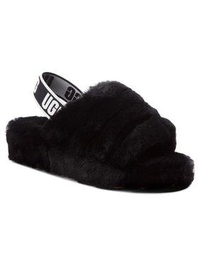 Ugg Ugg Pantofole W Fluff Yeah Slide 1095119 Nero