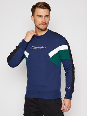 Champion Champion Bluza Colour Block Insert 214786 Kolorowy Comfort Fit