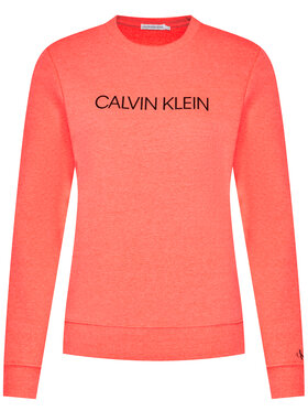 Calvin Klein Jeans Calvin Klein Jeans Džemperis Institutional Logo IU0IU00162 Oranžinė Regular Fit