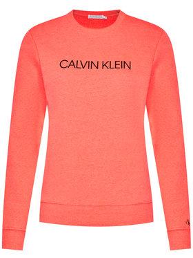 Calvin Klein Jeans Calvin Klein Jeans Sweatshirt Institutional Logo IU0IU00162 Orange Regular Fit