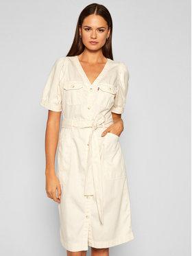 Levi's® Levi's® Džínsové šaty Bryn 21969-0000 Béžová Regular Fit