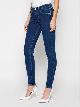 Guess Guess Jean Skinny Fit Annette W1RA99 D4663 Bleu marine Skinny Fit