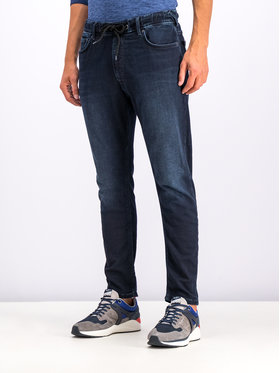 Pepe Jeans Pepe Jeans Jeansy Johnson PM204385 Tmavomodrá Relaxed Fit