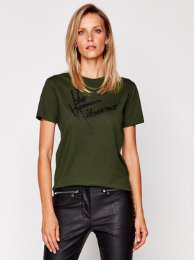 John Richmond John Richmond T-shirt Likart RWA20384TS Verde Regular Fit