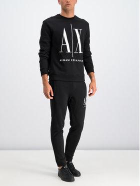 Armani Exchange Armani Exchange Sweatshirt 8NZMPA ZJ1ZZ 1200 Schwarz Regular Fit