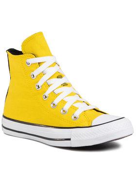 Converse Converse Trampki Ctas Hi 568495C Żółty