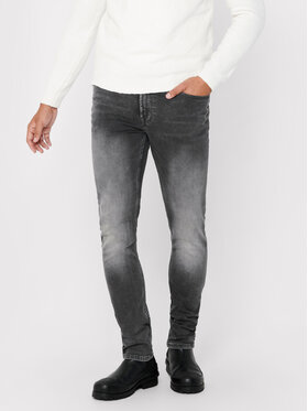 Only & Sons ONLY & SONS Jeansy Loom 22017103 Šedá Slim Fit
