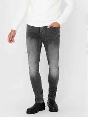 Only & Sons ONLY & SONS Jeansy Loom 22017103 Szary Slim Fit