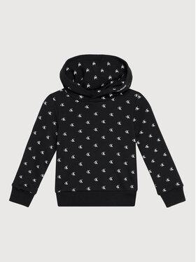 Calvin Klein Jeans Calvin Klein Jeans Sweatshirt Mini Monogram IG0IG01043 Schwarz Regular Fit