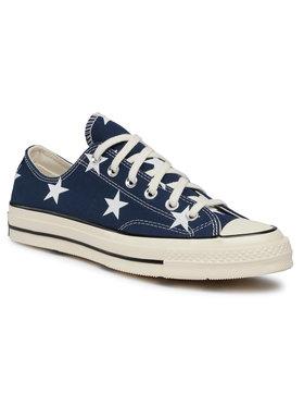 Converse Converse Sneakers aus Stoff Chuck 70 Ox 167812C Dunkelblau