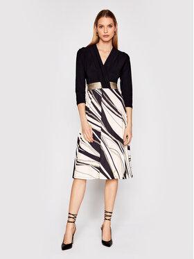 Rinascimento Rinascimento Sukienka koktajlowa CFC0017823002 Czarny Regular Fit