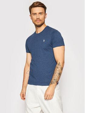 Polo Ralph Lauren Polo Ralph Lauren T-shirt 710680785007 Tamnoplava Custom Slim Fit