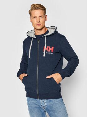 Helly Hansen Helly Hansen Bluza Logo 34163 Granatowy Regular Fit