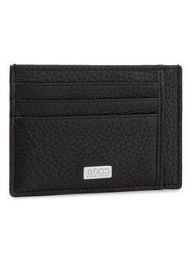 Boss Boss Kreditinių kortelių dėklas Crosstown 50390405 Juoda